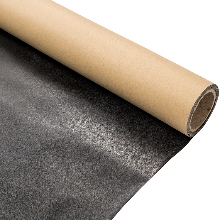 0.35mm dry Pu self adhesive leather back glue display cabinet leather fabric back glue processing Ch