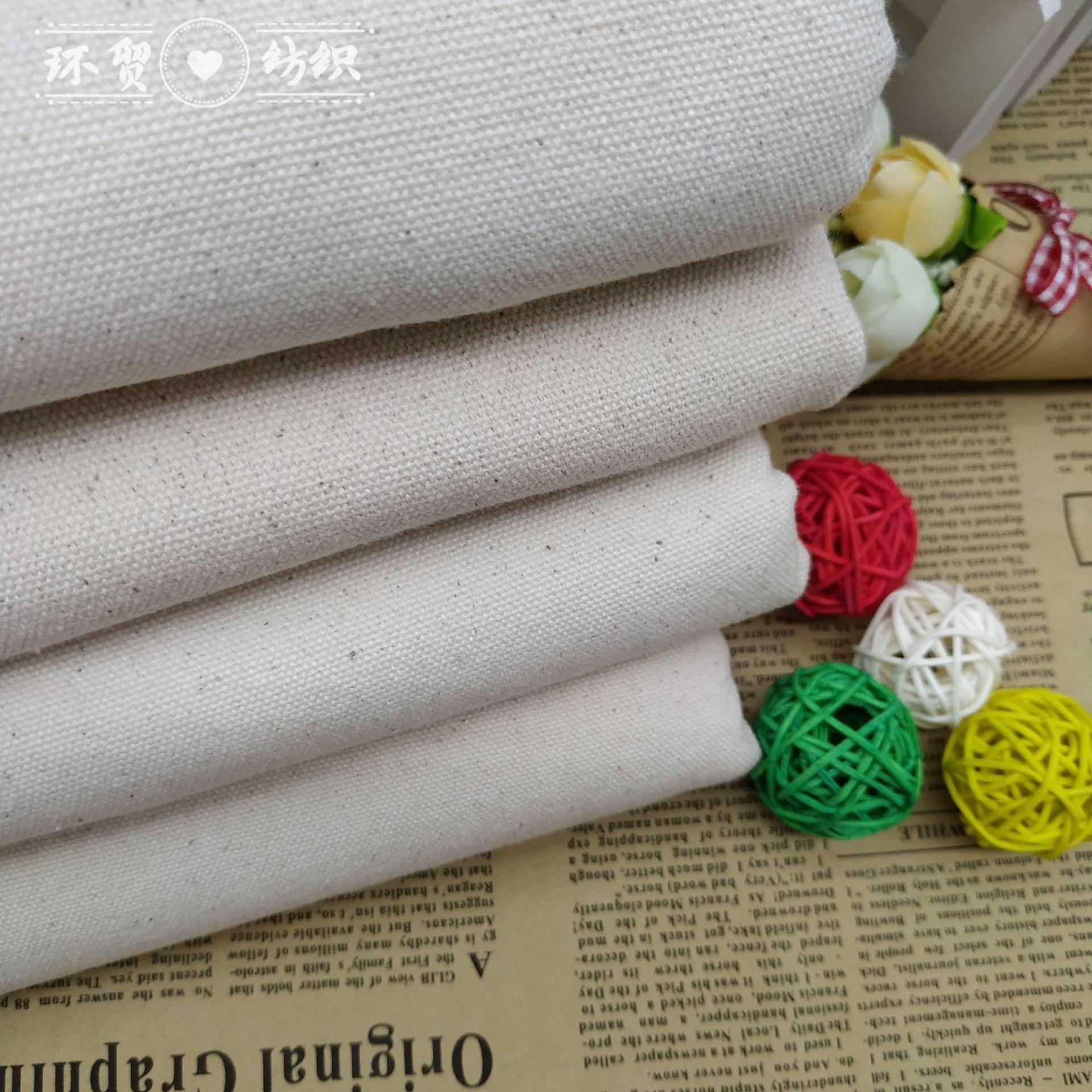 All cotton 12 a canvas densified green cloth shoe material bag cloth hand bag canvas