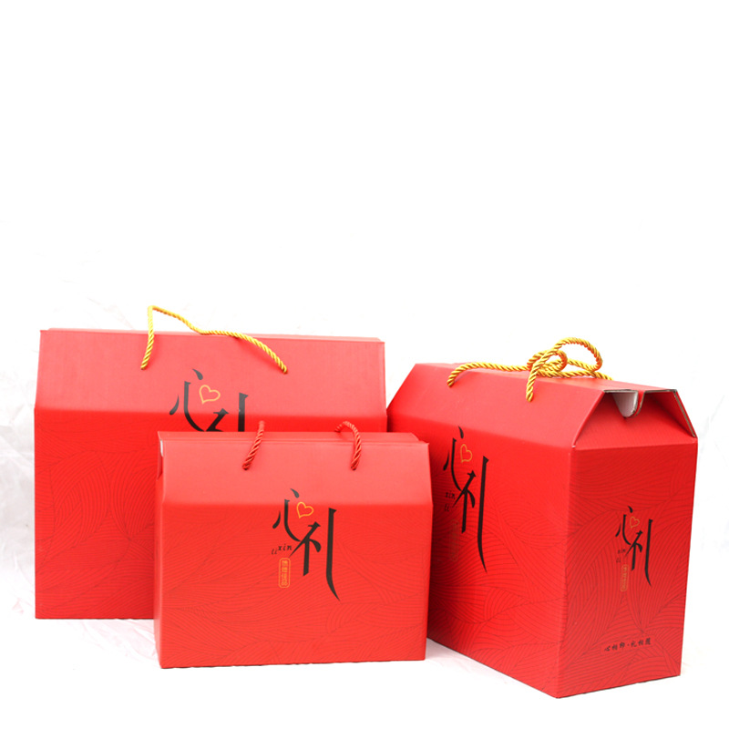 CHUKANG Gift box wholesale specialty new year box packaging seafood walnut red date snack gift box