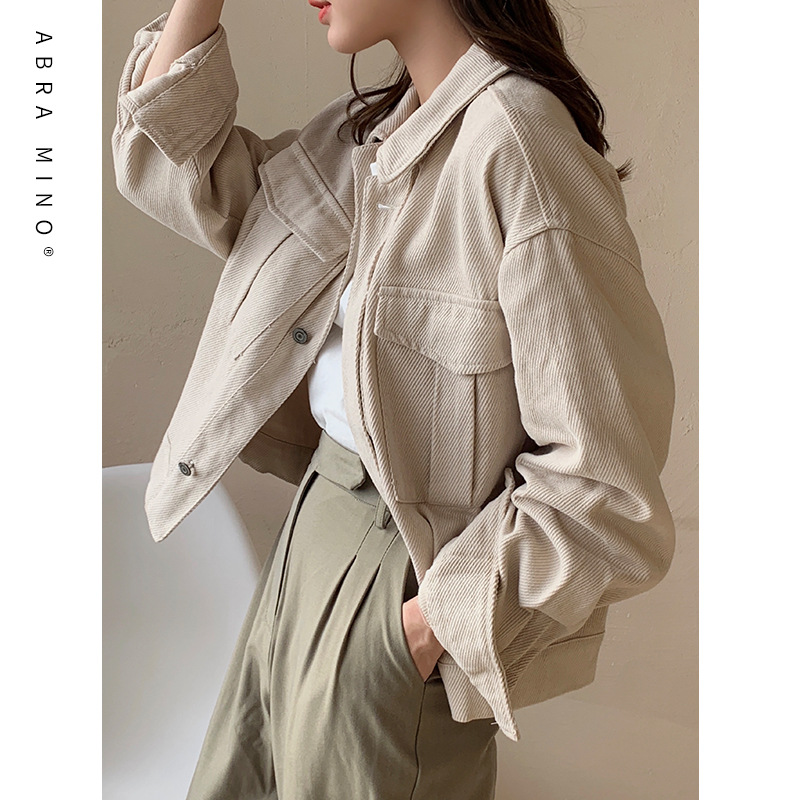 ABRA MINO Spring new style work clothes of SHISANHANG AB house