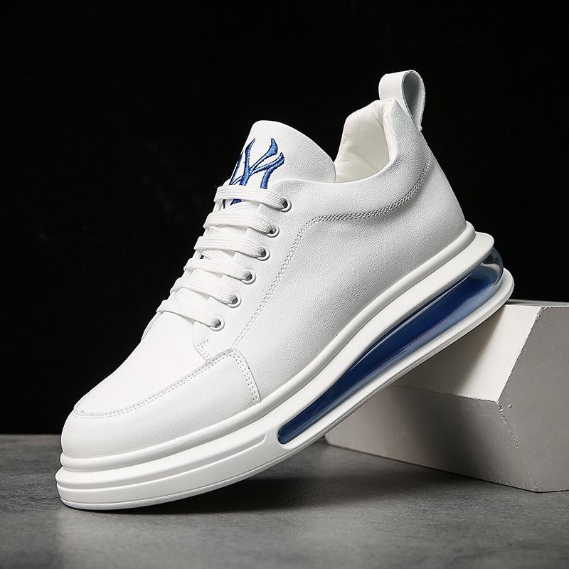 Air cushion men's shoes autumn new letter small white shoes Korean shoes trend men's shoes men's