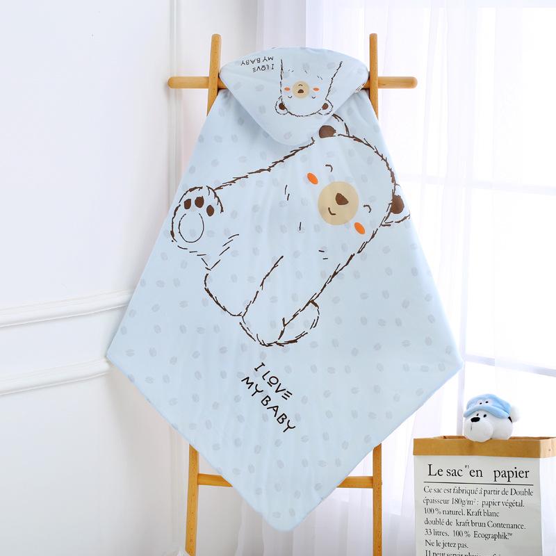 khăn quấn dành cho bé sơ sinh khi đi ra ngoài .