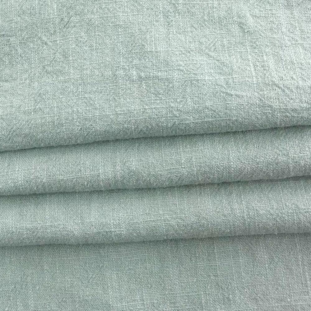 8 * 8 ramie cotton plain sand wash retro wash water linen soft women's slub hemp Tang coat cotton a