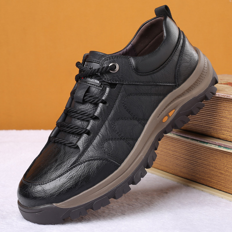 KKDR Kangkaida artificial shoes business casual shoes men's Korean sports outdoor mountaineering tr
