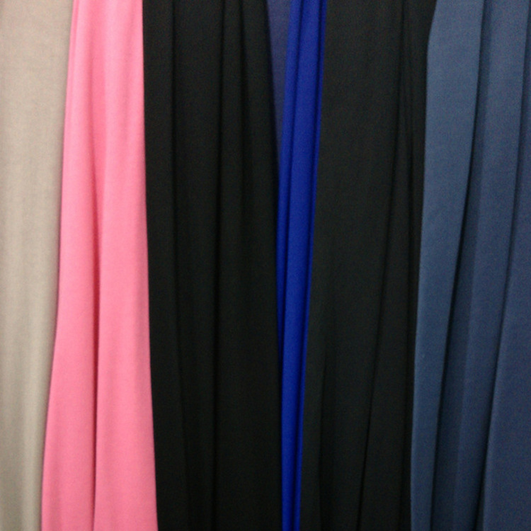 Polyester mercerized Jersey all polyester combed warp knitted broach