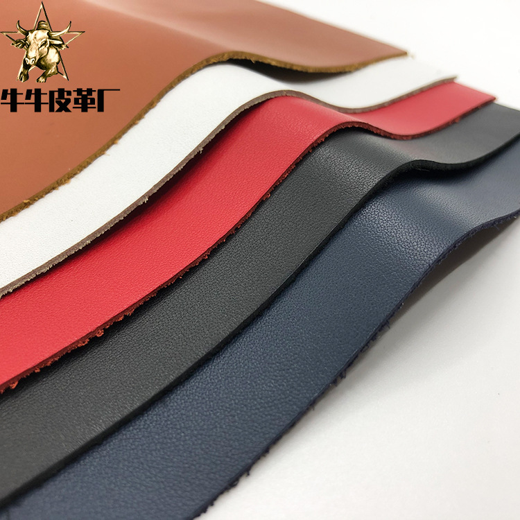 NIUNIU Topcoat leather with Nappa plain grain and light trimmed leather