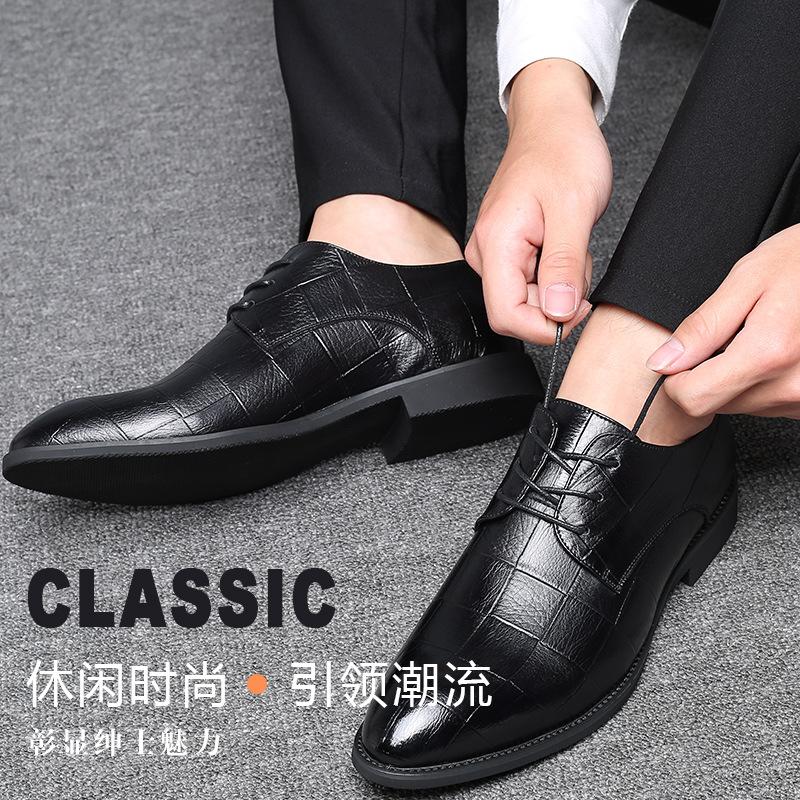 Giày tây công sở kiểu dáng thanh lịch cho nam .