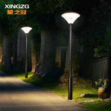Đèn LED chiếu sáng công cộng  Ánh sáng mặt trời ngoài trời ánh sáng sân vườn siêu sáng sân vườn cao