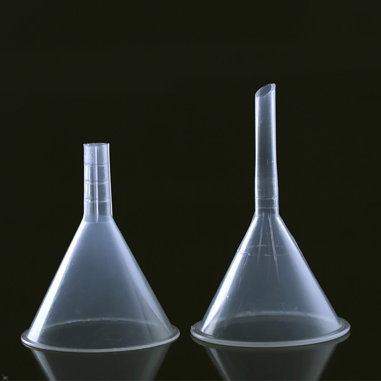 HAOYUAN 60mm plastic funnel chemical experiment separating funnel plastic funnel
