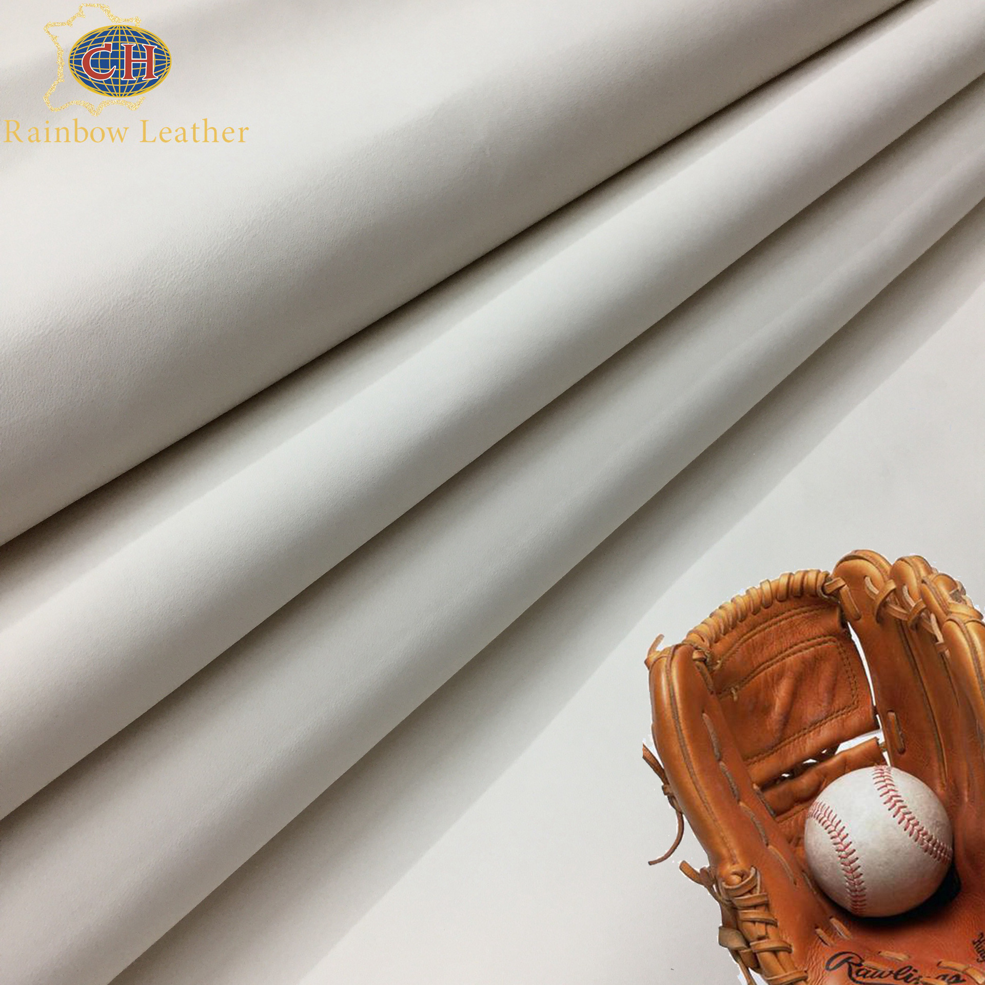 CAIHONG Chrome free Baseball Leather for white cattle leather