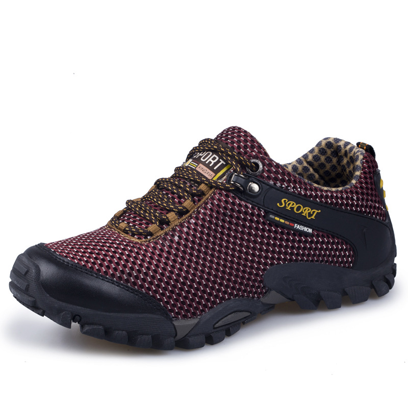 Spring and autumn cross border men's large climbing shoes men's outdoor anti slip wear-resistant c