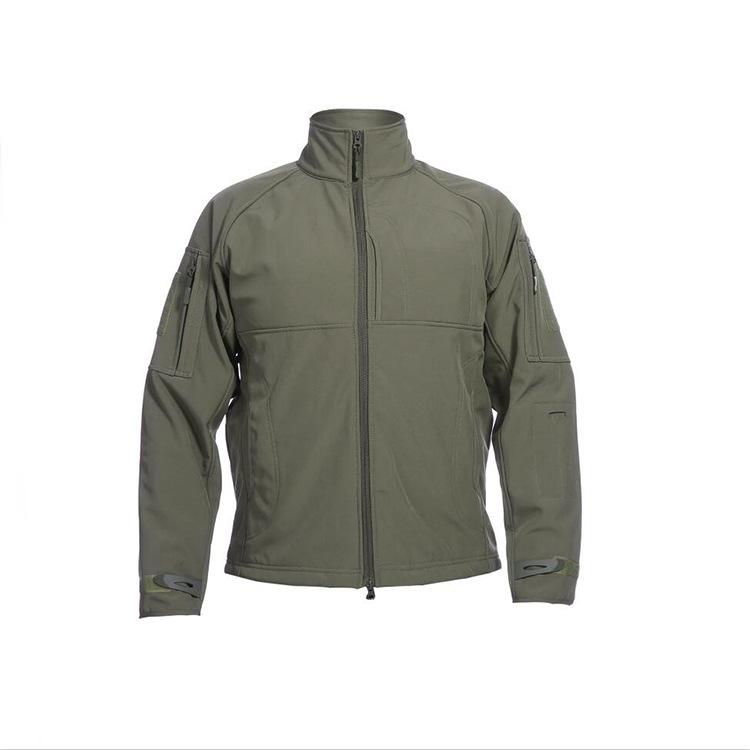 Outdoor Jacket commander jacket shark skin soft shell men's warm windproof waterproof jacket