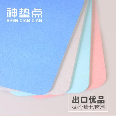SDD Đệm chân Nhà sản xuất tự nhiên phao diatomite pad nhà sản xuất phao hấp thụ nước pad phòng tắm p
