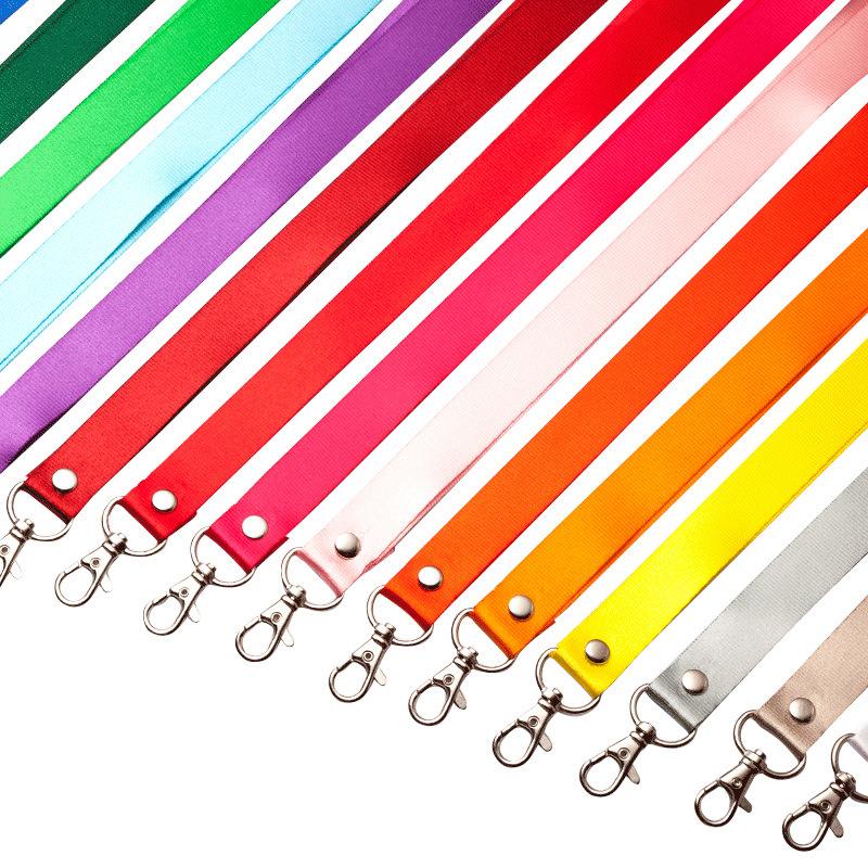 UHOO 2cm wide certificate hanging rope customized work card exhibition card hanging rope work card r