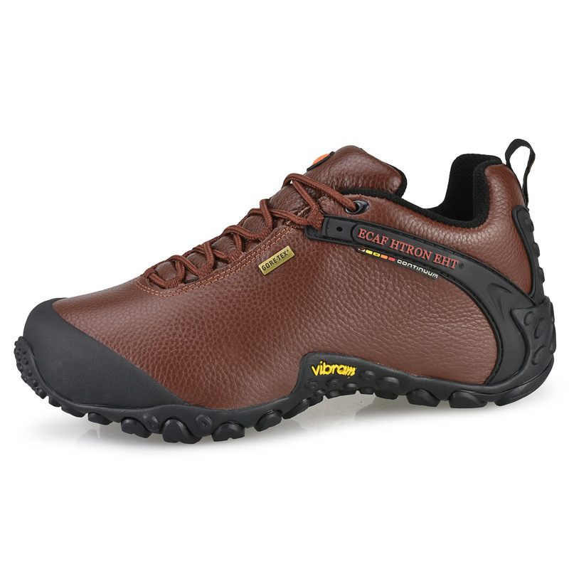 ECAF htron eht outdoor mountaineering shoes men's and women's leather travel leisure hiking