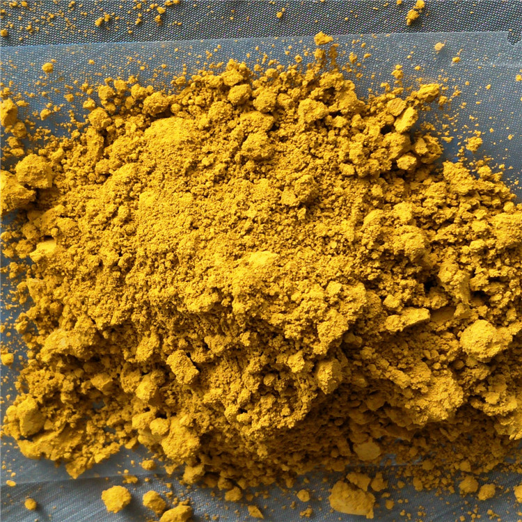 National standard iron oxide yellow 313 inorganic filler for permeable floor of colored brick and ti