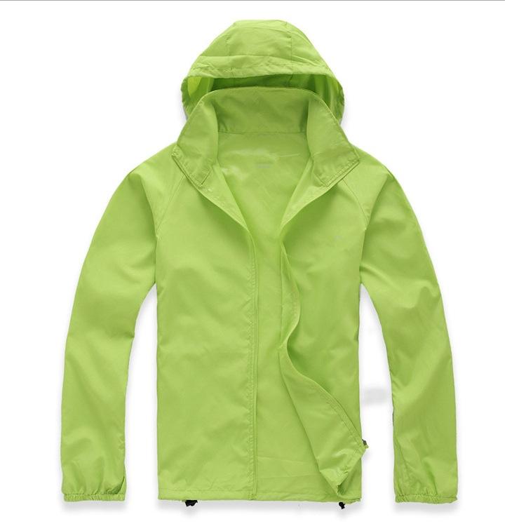MAPLE WALKER Outdoor men's and women's skin windbreaker skin clothes outdoor activity clothes ultr
