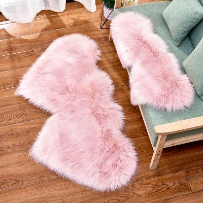 MAOXI Đệm chân 2020 biên giới sáng tạo tình yêu bông thảm thời trang châu âu đệm đệm ghế sofa đệm ch