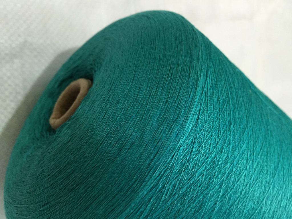 100% silk yarn 60 Count spun silk knitting yarn