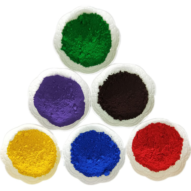 DEXU The color of industrial inorganic pigment for cement building floor is complete
