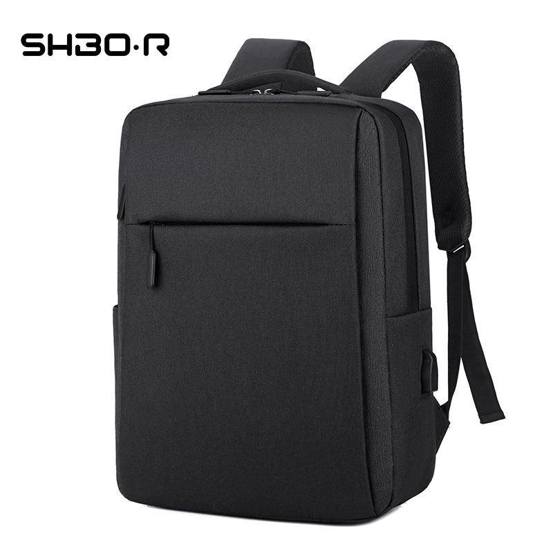 USB rechargeable business gift multifunctional computer backpack high capacity Student Backpack