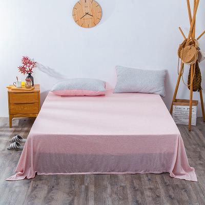 QINGJIUFANG Drap giường Nhà sản xuất trực tiếp bán hàng nhật bản tianzhu cotton knitting giường li t