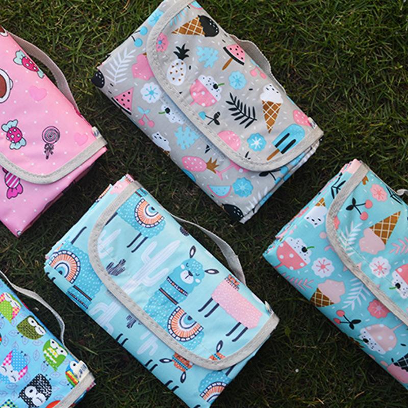 Traveler's picnic mat moisture pad outdoor goods tent mat lawn mat widened picnic cloth