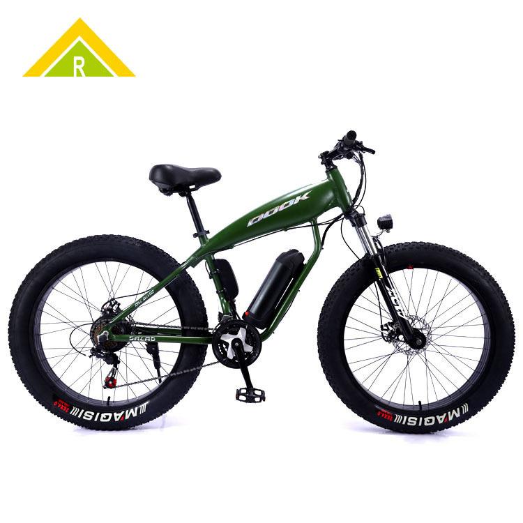 Xe đạp tuyết có trợ lực điện 26 inch pin lithium hợp kim nhôm .