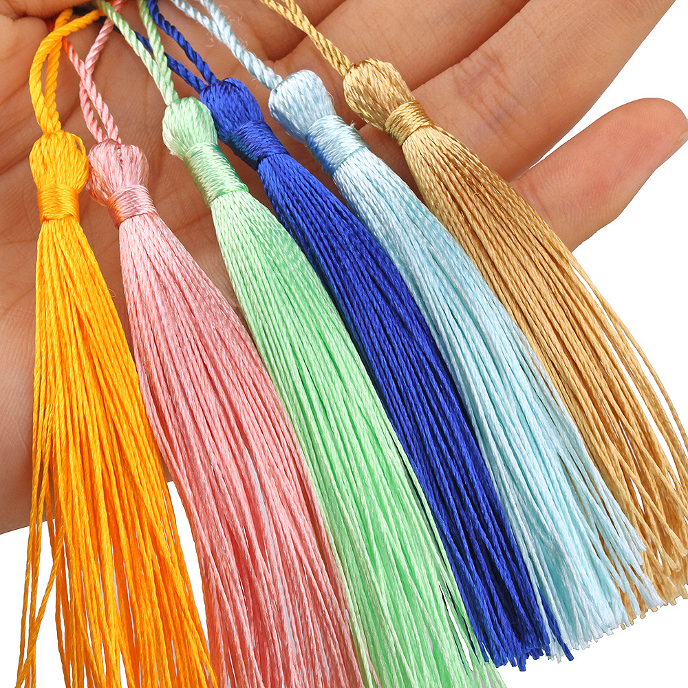 DILI TASSEL EAR fan accessories small hanging ear small pendant Chinese knot bookmark small tassel s