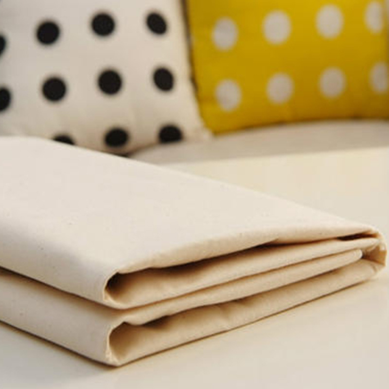 BAOSHENG Polyester cotton blended three-dimensional cutting white cloth 45 TC environment-friendly h