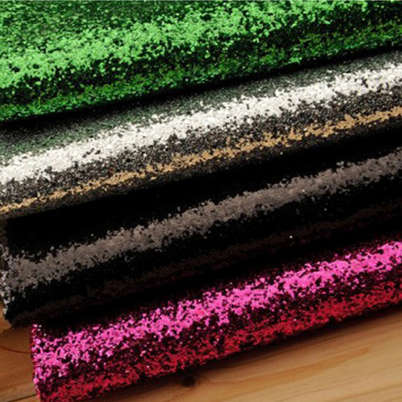 Large Pu artificial leather material DIY hand fabric Sequin live background layout Hotel KTV carpet