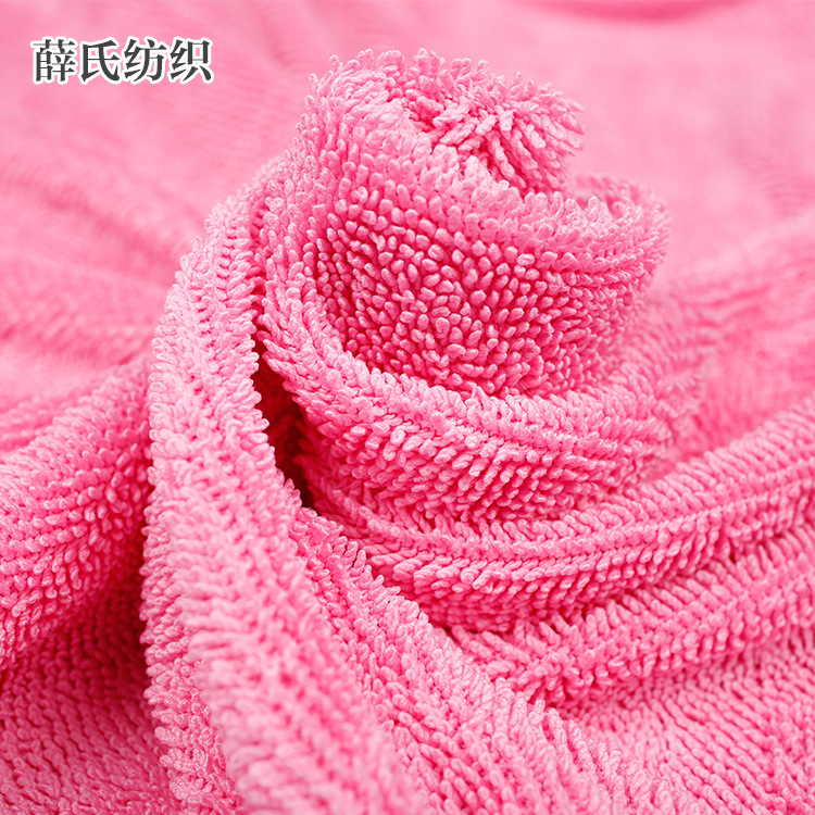 Braid twist fabric polyester brocade twist cloth water absorbent oil absorbent towel cloth double si