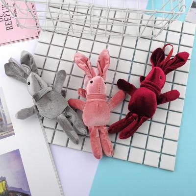 meiyang Đồ trang trí móc treo Hàn quốc velvet wish thỏ dolly velvet thỏ treo quà giáng sinh năm mới