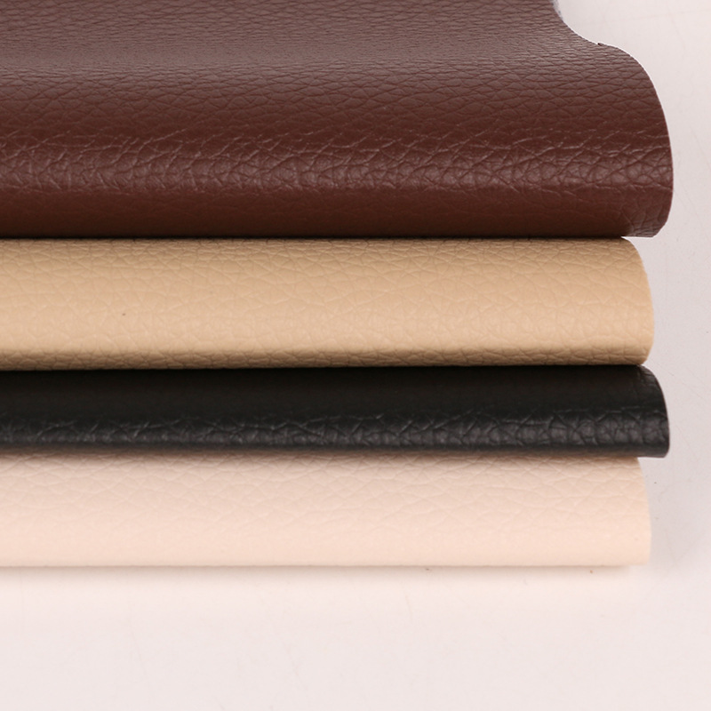 BAOJIN Small litchi grain D90 Benz pattern car seat seat cushion edging PVC leather fabric artificia
