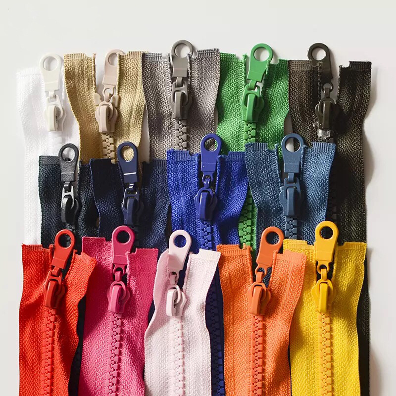 ZHIPENG No.5 resin zipper open tail fine teeth coarse teeth zipper down jacket work clothes coat zip