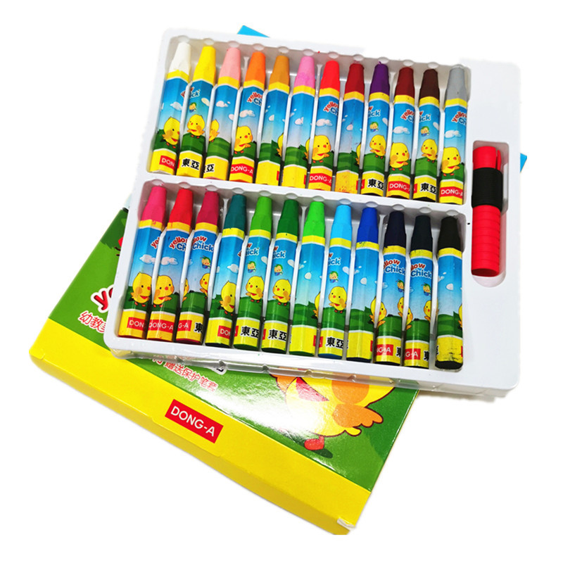 DONGYA 12 color oil painting stick crayon children's painting art supplies Stationery