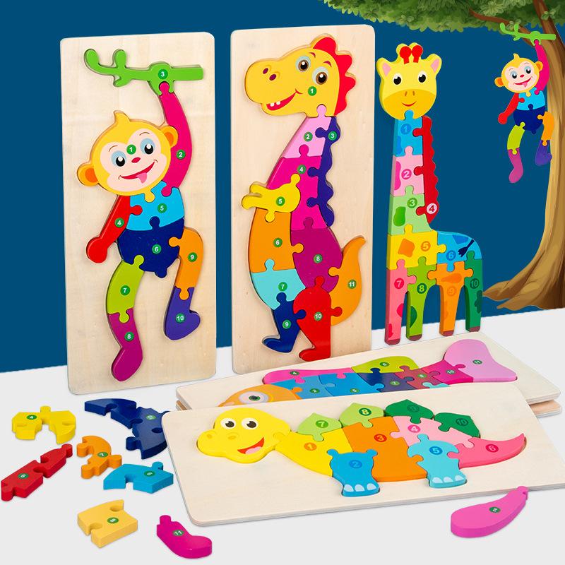 Đồ chơi ghép hình động vật dành cho bé .