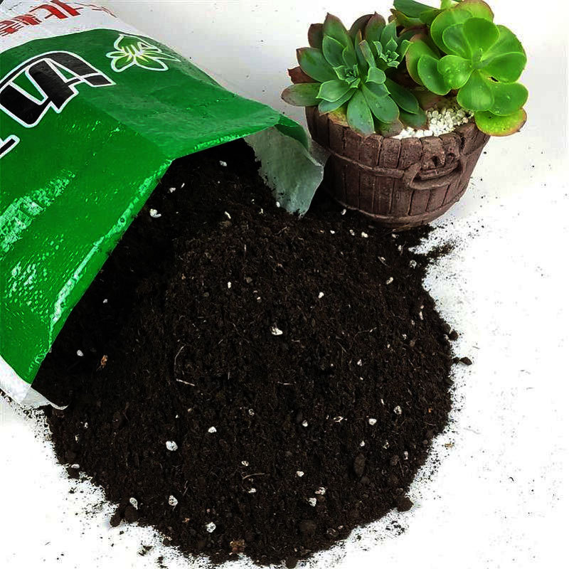 BIANMU Nutrient soil general soil flower planting vegetable soil flower fertilizer flower green curr
