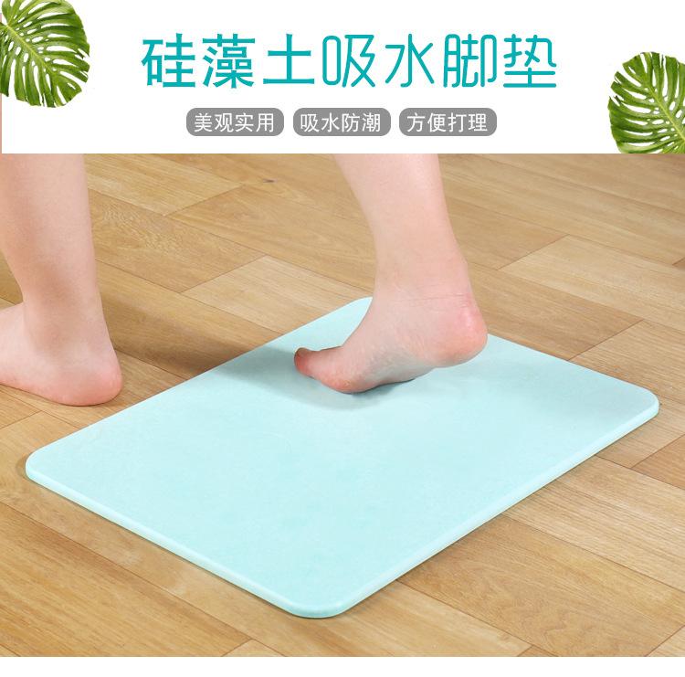 XISHUI Đệm chân Pad một thay thế của cát cát pad bàn chân phòng tắm mat nhanh chóng khô chống trơn c
