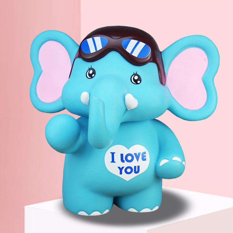 Con heo đất hình chú voi dễ thương cho bé .