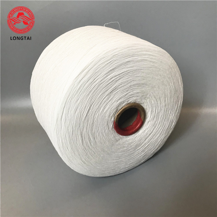 High temperature resistant cotton yarn for rubber cable filling