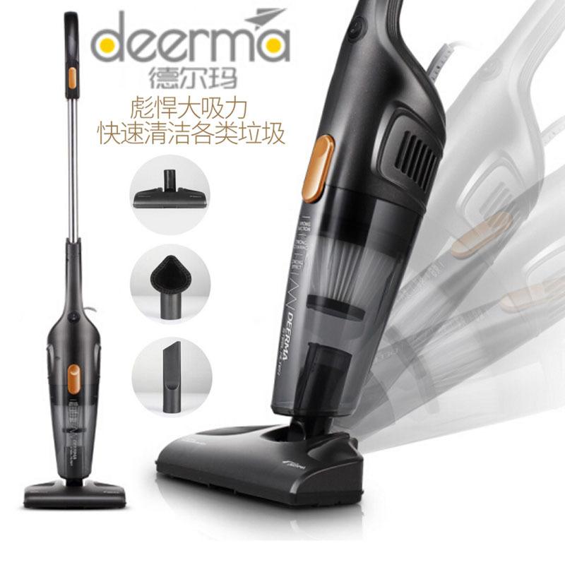 DEERMA Delma vacuum cleaner household small ultra quiet power portable mini portable dog hair suctio