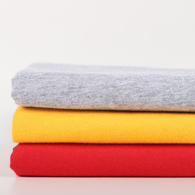 CHENGYUE 21s / 26S combed cotton single jersey cotton 180g / 160g / 140gt T-shirt knitted fabric pur