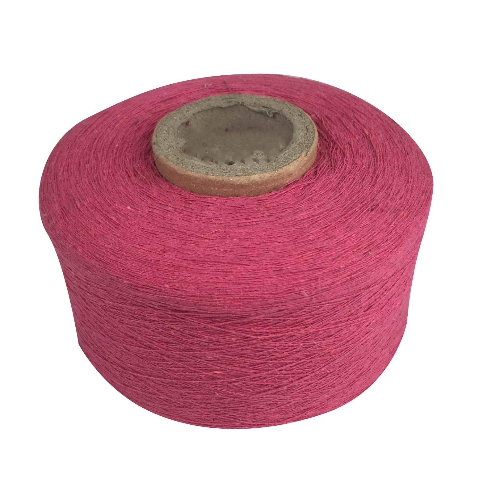 HUANSHENG Core spun yarn red single strand 21 count-40 count 21s flame retardant yarn knitted cotton