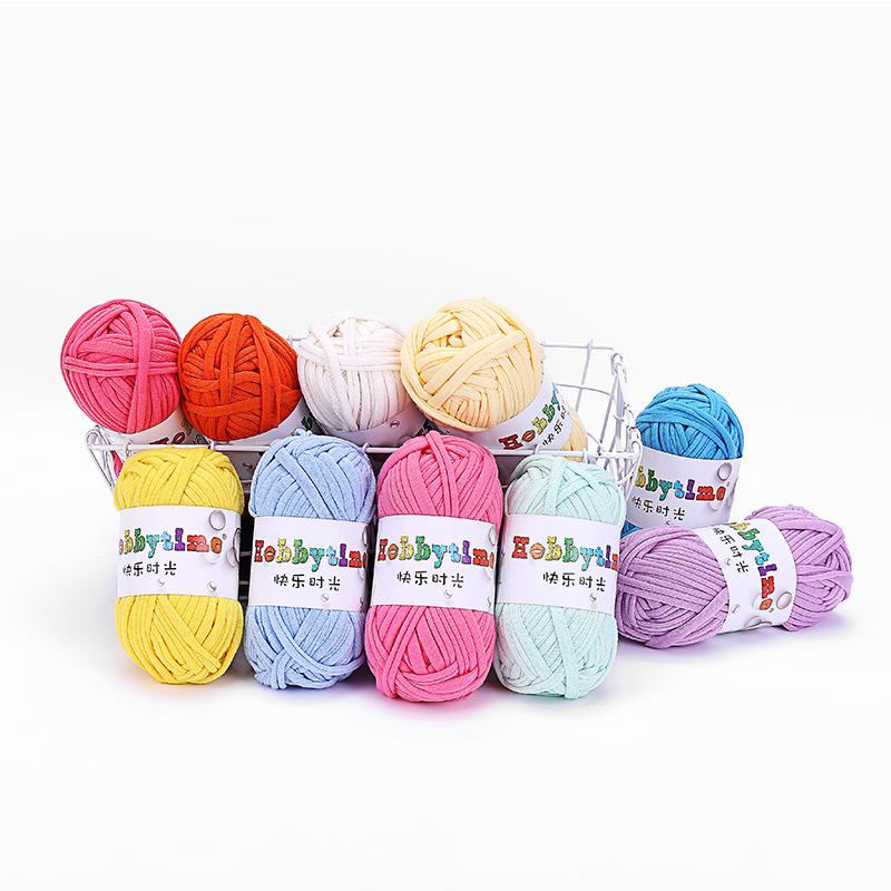 Cloth yarn hand woven textile wool household carpet yarn hemp spinning Yaya same fabric yarn