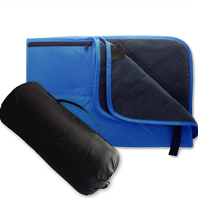 New double layer rain proof emergency blanket thickened outdoor products for picnic damp proof outdo