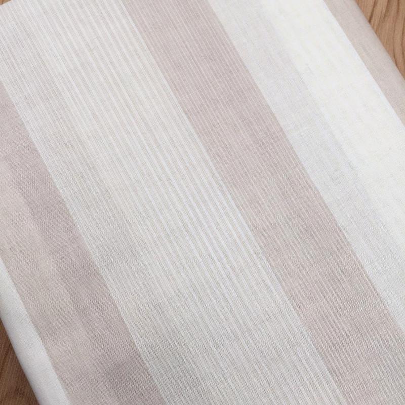 45 thread poplin striped polyester cotton fabric Japanese order shirt skirt children's clothing fab