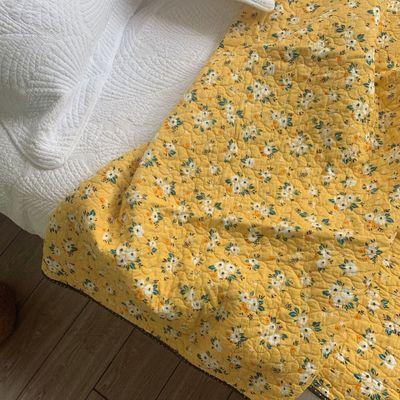 Drap giường Thương mại nước ngoài xuất khẩu đầy đủ bông giường hàn quốc và bông đôi quilted lốp đỏ g