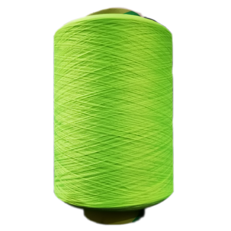 Dty150d-1800d polyester low elastic yarn high elastic yarn side sewing line chemical fiber yarn edge