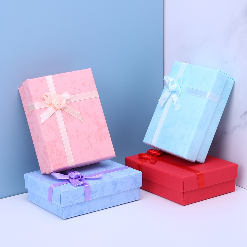 Cloud paper 7 * 9 Jewelry Pendant Necklace heaven and earth cover box packing box